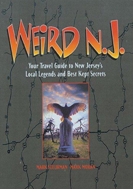 Weird New Jersey Book 4