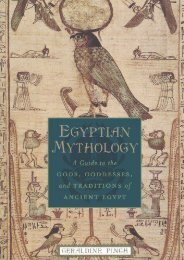 Download PDF Egyptian Mythology: A Guide to the Gods, Goddesses, and Traditions of Ancient Egypt Full