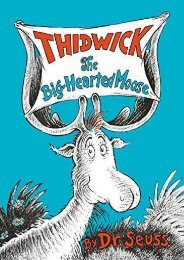[PDF] Download Thidwick the Big-Hearted Moose (Classic Seuss) Online