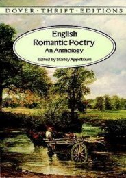 Download PDF English Romantic Poetry: An Anthology (Dover Thrift Editions) Online