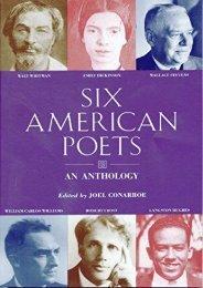 Download PDF Six American Poets Full