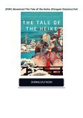 [PDF] Download The Tale of the Heike (Penguin Classics) Full - Page 2
