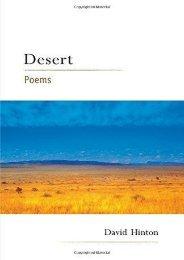 Download PDF Desert: Poems Online