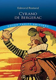 Download PDF Cyrano de Bergerac (Dover Thrift Editions) Online