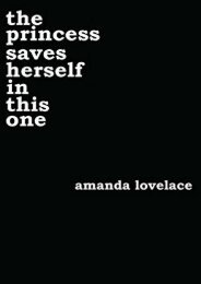 Download PDF the princess saves herself in this one (Women Are Some Kind of Magic 1) Online