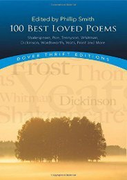 Download PDF 100 Best-Loved Poems (Dover Thrift Editions) Full
