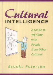 [PDF] Download Cultural Intelligence: A Guide to Working with People from Other Cultures: A Guide to Work and Life with People from Other Cultures Online