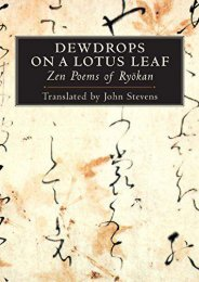Download PDF Dewdrops on a Lotus Leaf: Zen Poems of Ryokan Online