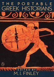 Download PDF The Portable Greek Historians: The Essence of Herodotus; Thucydides; Xenophon; Polybius (The Viking portable library) Online