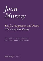 Download PDF Drafts, Fragments, And Poems (Nyrb Poets) Online