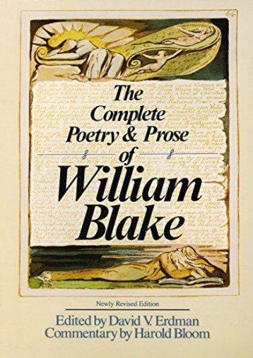[PDF] Download Compl Poetry Blake Rev Ed Full