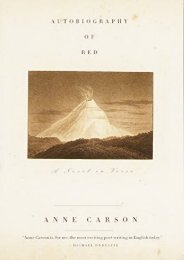 Download PDF Autobiography of Red: a Novel in Verse (Vintage Contemporaries (Paperback)) Full