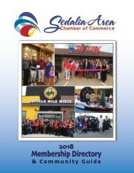 2018 Chamber of Commerce Directory