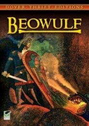 Download PDF Beowulf (Dover Thrift Editions) Full