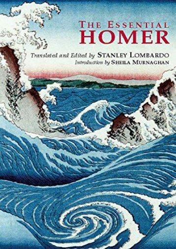 Download PDF The Essential Homer (Hackett Classics) Online