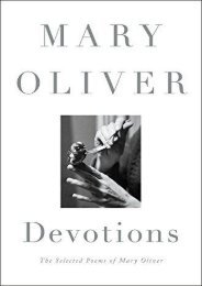 [PDF] Download Devotions: The Selected Poems of Mary Oliver Online