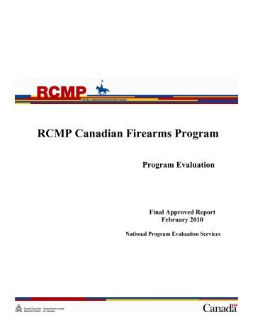 canadian firearms program Get this from a library canadian firearms program statistics [canadian firearms program canada firearms centre.