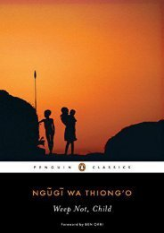[PDF] Download Weep Not, Child (Penguin African Writers) Full