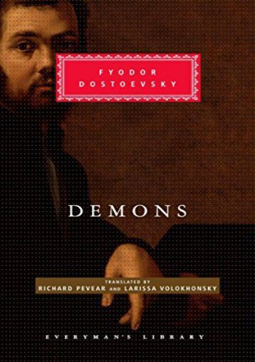 [PDF] Download Demons (Everyman s Library Classics   Contemporary Classics) Online
