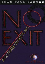 Download PDF No Exit, and Three Other Plays (Vintage International) Full