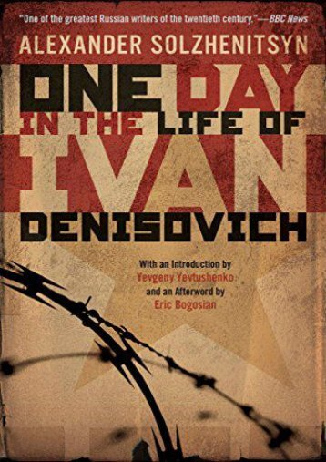 Download PDF One Day in the Life of Ivan Denisovich Online