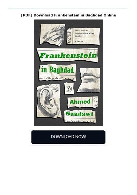 [PDF] Download Frankenstein in Baghdad Online