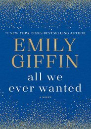 Download PDF All We Ever Wanted Full
