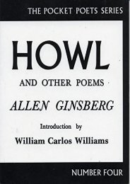 Download PDF Howl and Other Poems (City Lights Pocket Poets Series) Full