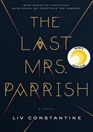 Download PDF The Last Mrs. Parrish Online