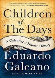 [PDF] Download Children of the Days: A Calendar of Human History Online