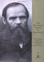 [PDF] Download The Best Short Stories of Dostoevsky (Modern Library) Full