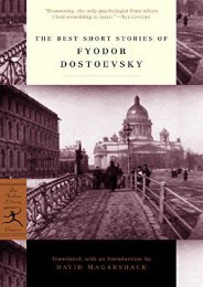 [PDF] Download The Best Short Stories of Dostoevsky (Modern Library) Online