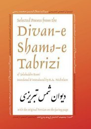 [PDF] Download Selected Poems from the Divan-e Shams-e Tabrizi: Along With the Original Persian: Volume 5 (Classics of Persian Literature) Full