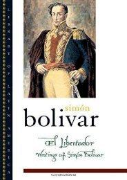[PDF] Download El Libertador: Writings of Simon Bolivar (Library of Latin America) Online