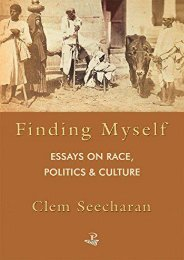 [PDF] Download Finding Myself: Essays in Race Politics and Culture Full