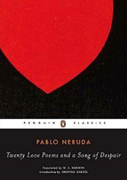 Download PDF Twenty Love Poems and a Song of Despair: Dual-Language Edition (Penguin Classics) Full