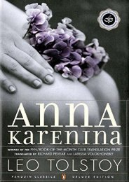 Download PDF Anna Karenina (Oprah #5): (penguin Classics Deluxe Edition) (Oprah s Classics Book Club Selections) Full