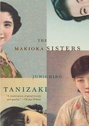 [PDF] Download Makioka Sisters (Vintage International) Online