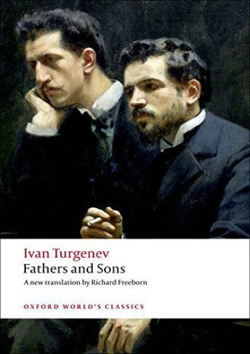 [PDF] Download Fathers and Sons (Oxford World s Classics) Online