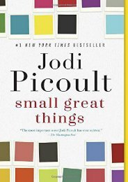 Download PDF Small Great Things Online