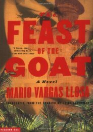 Download PDF The Feast of the Goat Online