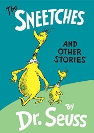 Download PDF The Sneetches: And Other Stories (Classic Seuss) Online