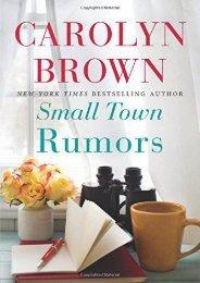 [PDF] Download Small Town Rumors Full