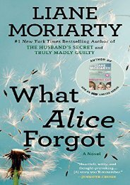 [PDF] Download What Alice Forgot Online
