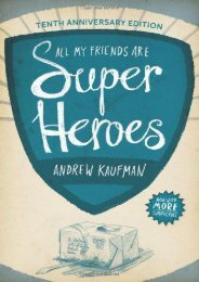 Download PDF All My Friends Are Superheroes Full