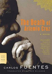 Download PDF The Death of Artemio Cruz (FSG Classics) Full