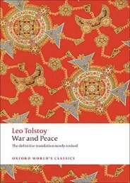 [PDF] Download War and Peace n/e (Oxford World s Classics) Full
