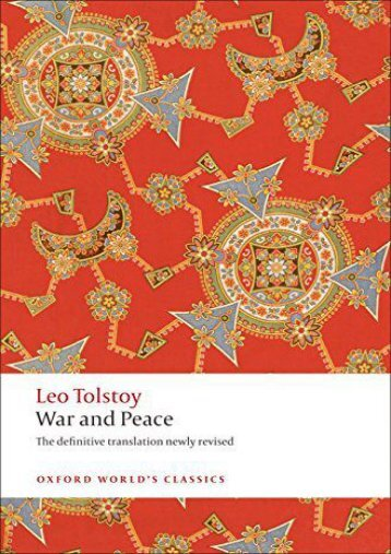 [PDF] Download War and Peace n/e (Oxford World s Classics) Full