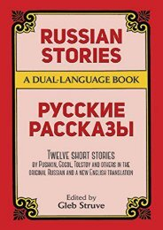 [PDF] Download Russian Stories: A Dual-Language Book (Dover Dual Language Russian) Online