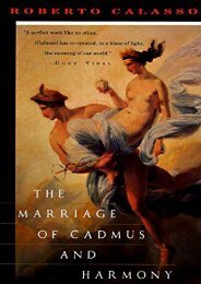 [PDF] Download The Marriage of Camdus and Harmony (Vintage International) Online